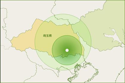 施工対応エリアマップ